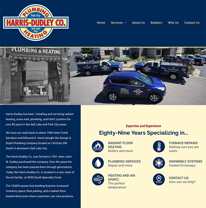 Harris Dudley Homepage